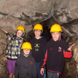 Family in Caves - Visiting How Stean Gorge, Yorkshire Dales