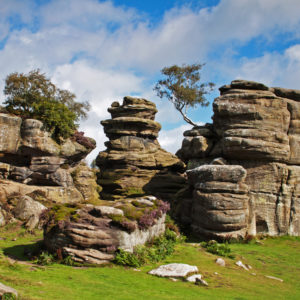 Brimham Rocks - Rock climbing in yorkshire