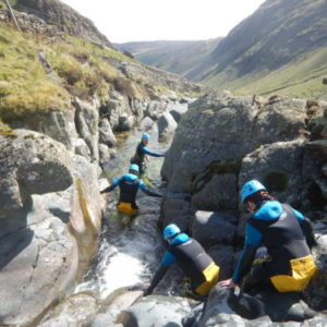 Canyoning Yorkshire with How Stean Gorge's Outdoor Adventure Team