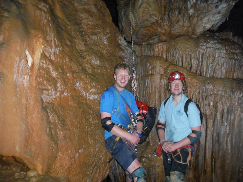 Dan & Tony Liddy Caving