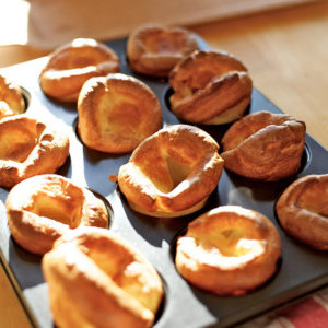 Crispy Yorkshire Pudding recipe done right! Freshly made Yorkshire Puddings