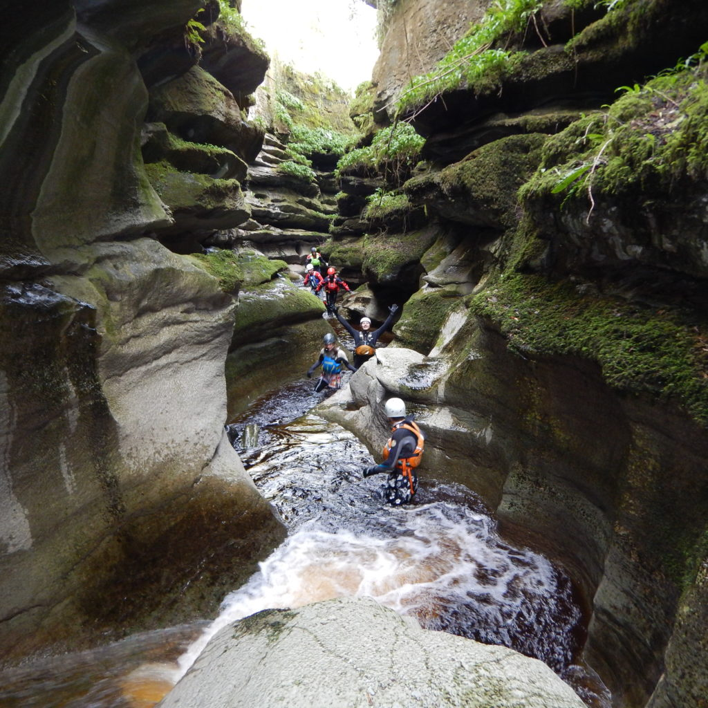 Gorge Walking at How Stean Gorge