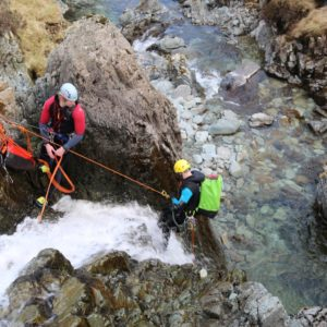 Canyoning at How Stean Gorge