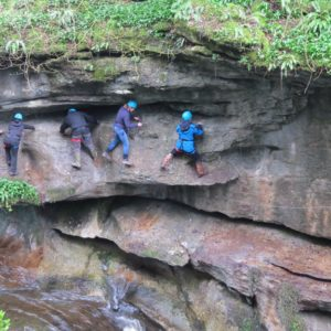 Outdoor Birthday Activities at How Stean Gorge