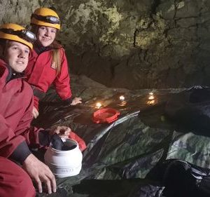Settling in to Cave Camping