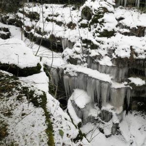 How Stean Gorge in Winter